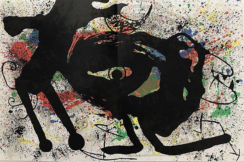 Lithograph Miró - Sans Titre II