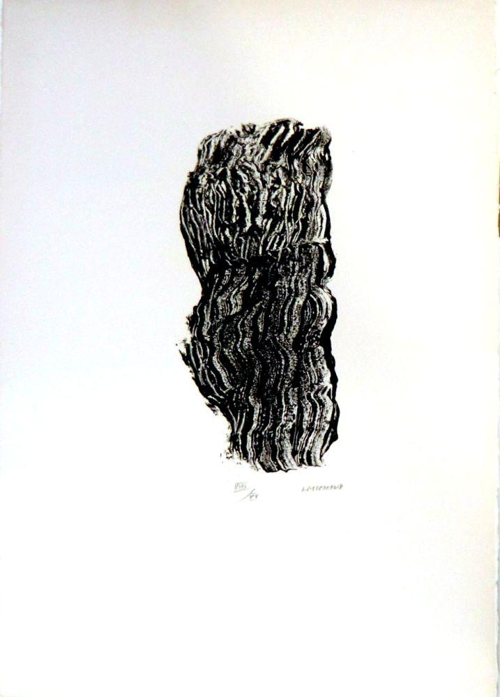 Lithograph Michaux - Sans titre n°127