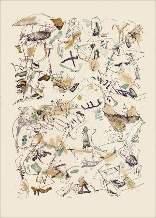 Lithograph Voss - Sans titre n°77