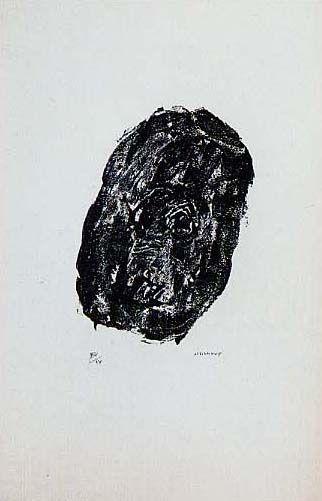 Lithograph Michaux - Sans titre planche 8