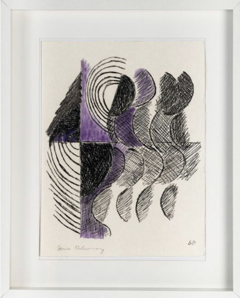 Etching And Aquatint Delaunay - Sans titre / Untitled