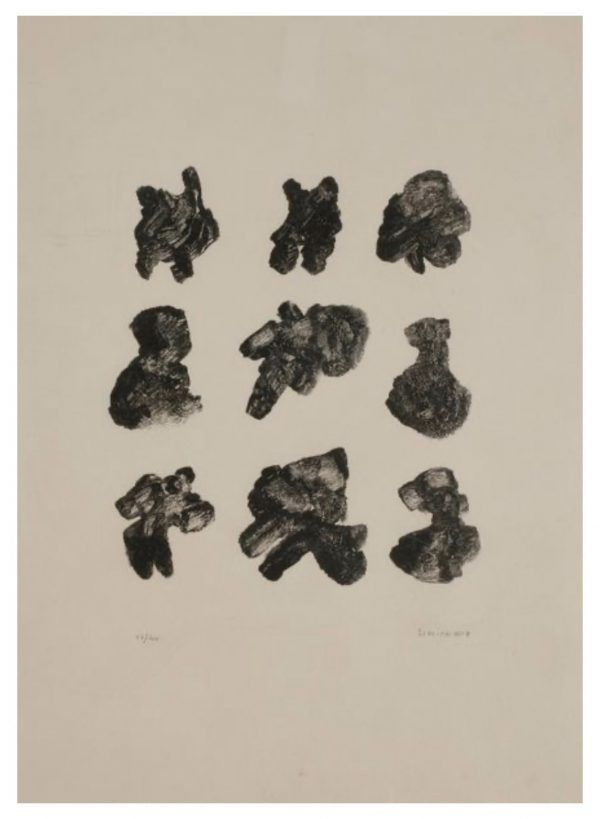 Lithograph Michaux - Sans titre / Untitled