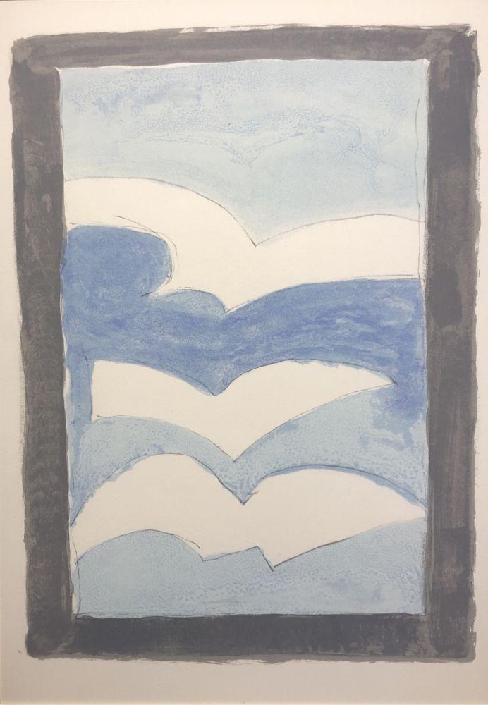 Lithograph Braque - Sans titre / Untitled