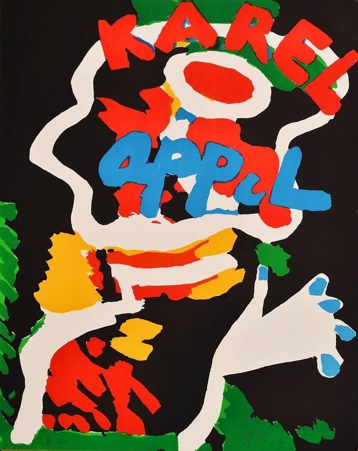 Lithograph Appel - Sans titre / Untitled