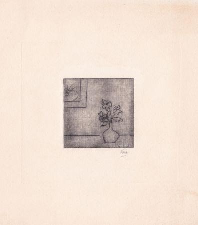 Etching Benoit - Sans titre [Vase]