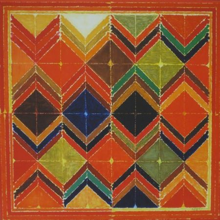 Lithograph Raza - Sans titre VIII