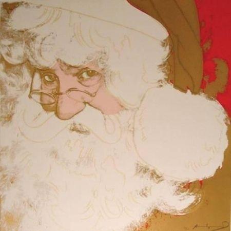Screenprint Warhol - Santa Claus