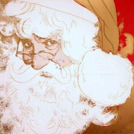 Screenprint Warhol - Santa Claus (FS II.266)