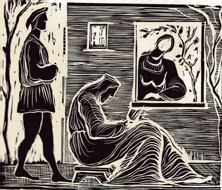Illustrated Book Stoppa - Sant'Abraam Romito e la Nipote Maria