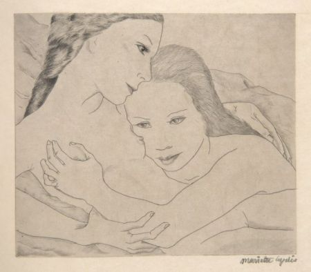 Illustrated Book Lydis - SAPPHO (ΣΑΠΦΩ). Poèmes. 16 gravures originales signées (1933).