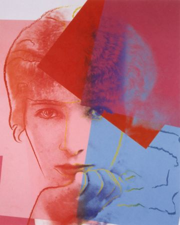 Screenprint Warhol - Sarah Bernhardt (FS II.234) Trial Proof