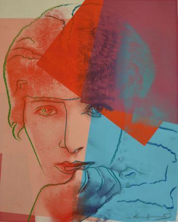 Screenprint Warhol - Sarah Bernhardt TP