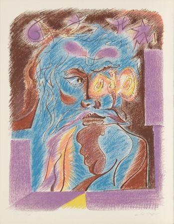 Lithograph Masson - Satan from Je Reve Portfolio