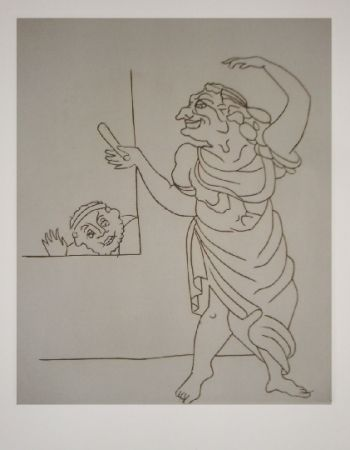 Etching Derain - Satyricon 18
