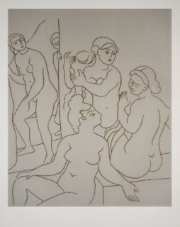 Etching Derain - Satyricon 21
