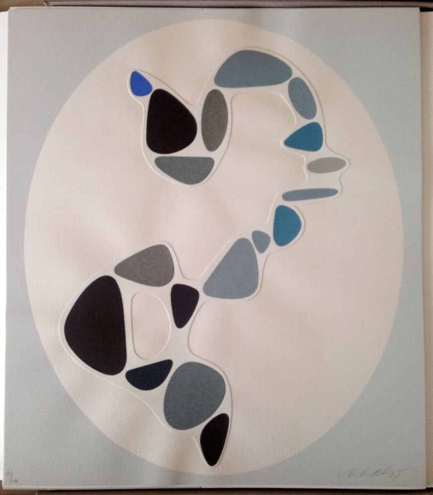 No Technical Vasarely - Sauzon (Belle Isle) - Collage