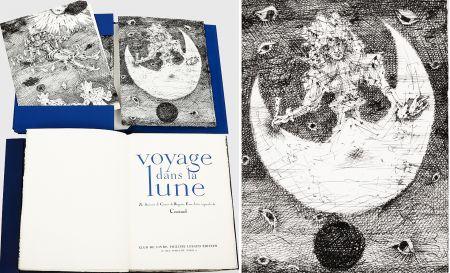 Illustrated Book Coutaud - Savinien CYRANO DE BERGERAC : VOYAGE DANS LA LUNE. Eaux-fortes originales de Coutaud.