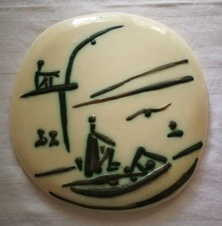 Ceramic Picasso - Scene de plage