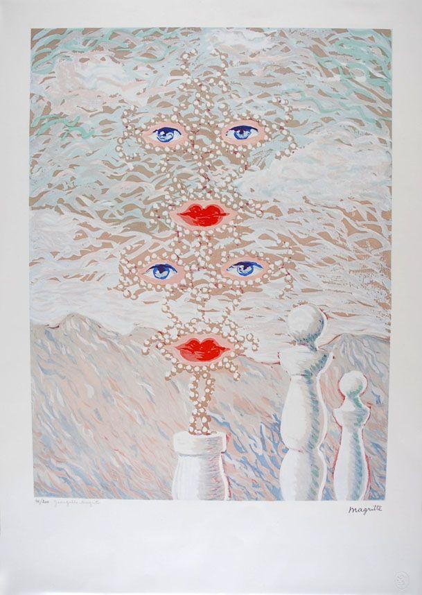 Lithograph Magritte - Schéhérazade - Scheherazade