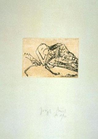 Etching And Aquatint Beuys - Schafsskelett