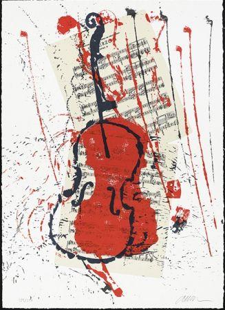 Screenprint Arman - Scherzo opus 31