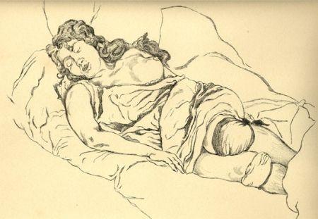 Illustrated Book Vrieslander - Schlafende Frauen / Sleeping Women