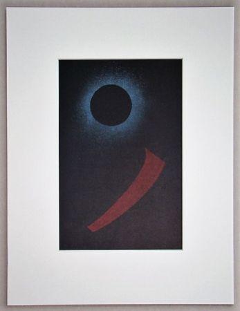 Lithograph Kandinsky - Schwarze Sonne, 1940