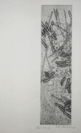 Etching Celan Lestrange - Schwarzmaut - 11