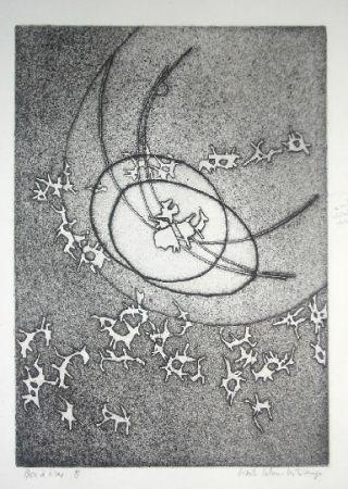 Etching Celan Lestrange - Schwarzmaut - 8