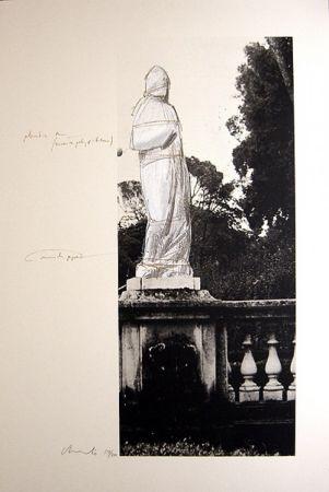Lithograph Christo - Schweiz Verpackte Venus-Villa Borghese