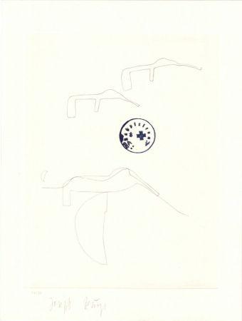 Lithograph Beuys - Schwurhand: Eiszeit  Normalausgabe