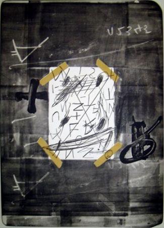 Lithograph Tàpies - SCOTCH