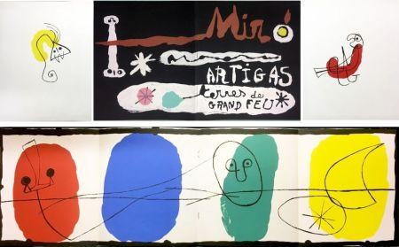 Illustrated Book Miró - SCULPTURE IN CERAMIC BY MIRÓ AND ARTIGAS. TERRES DE GRAND FEU. December, 1956