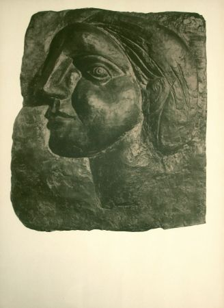 Lithograph Picasso - Sculptures, dessins (before lettering)