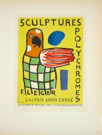 Lithograph Leger - Sculptures Polychromes