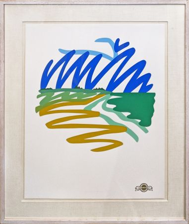 Screenprint Wesselmann - SEASCAPE (ROUND)