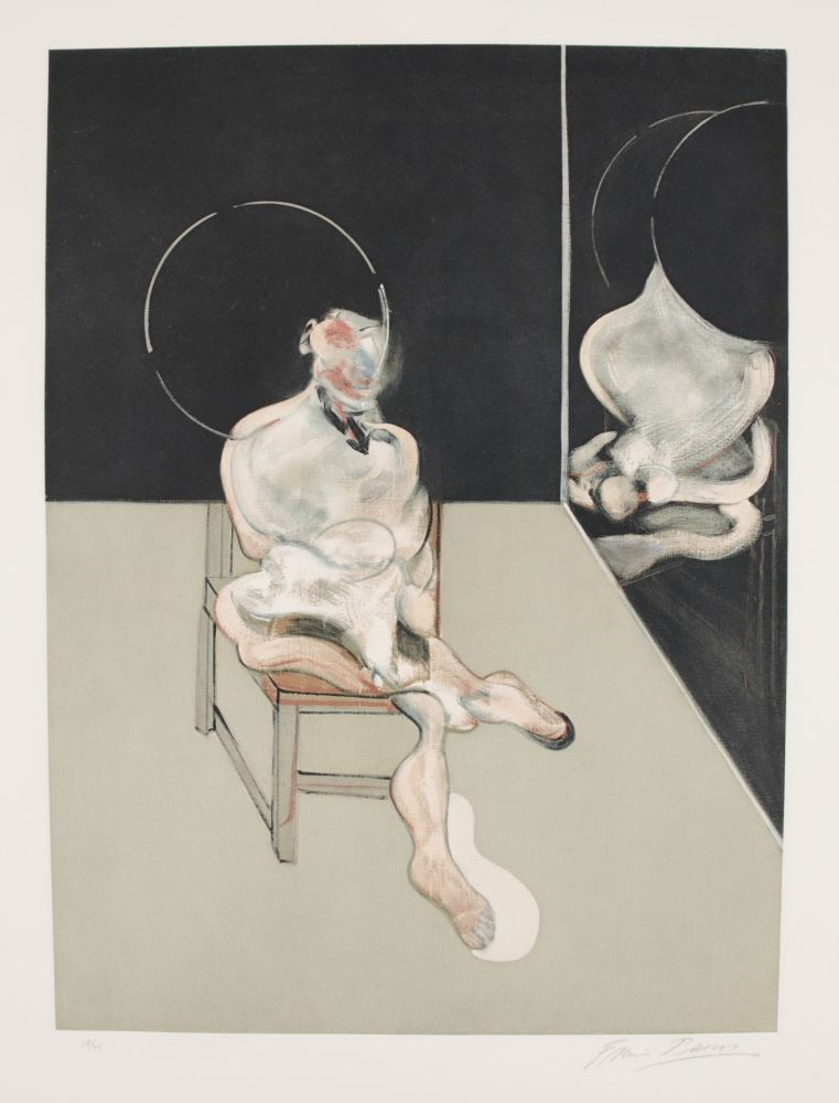 Etching And Aquatint Bacon - Seated Figure