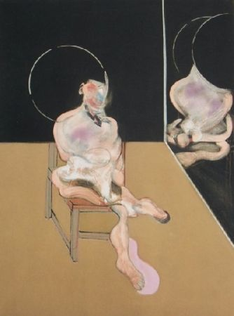 Etching Bacon - Seated figure