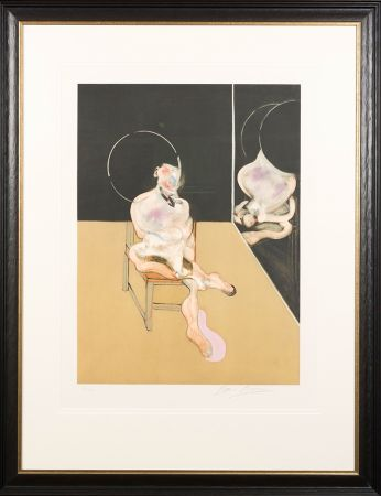 Aquatint Bacon - 'Seated Figure'