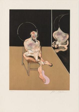 Aquatint Bacon - Seated Figure 1983