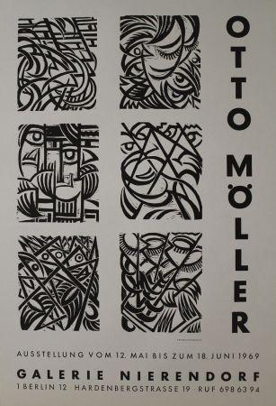 Woodcut Möller - Sechs Original-Holzschnitten zu Dostojewskij: