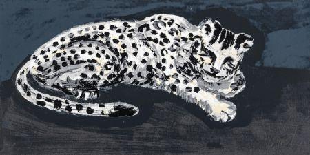 Screenprint Sone - Seems like snow leopard