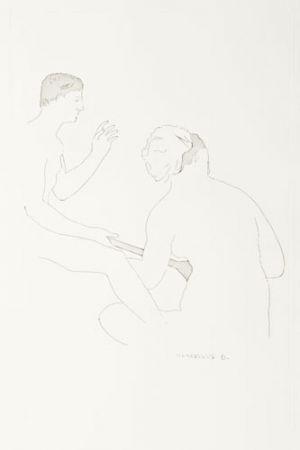 Etching Duchamp - Selected Details after Ingres I