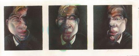 Lithograph Bacon - Self-portrait