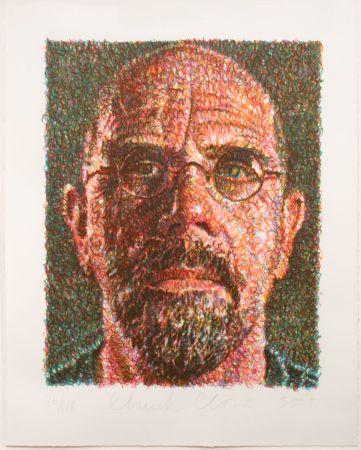 Screenprint Close - Self-Portrait