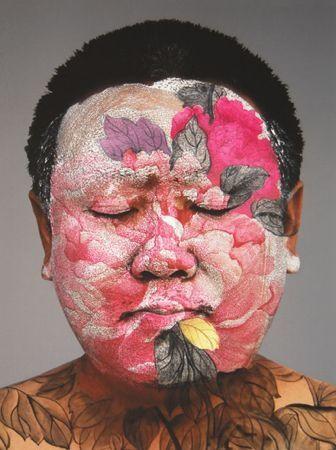 Screenprint Yan - Self Portrait