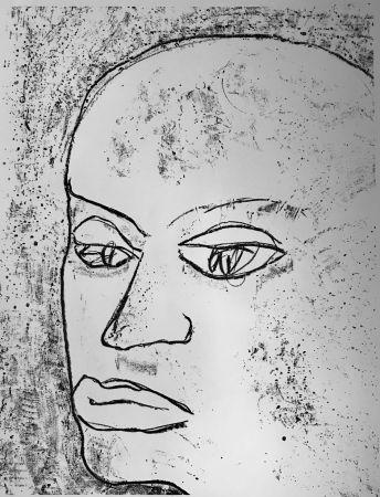 Lithograph Francis - Self Portrait