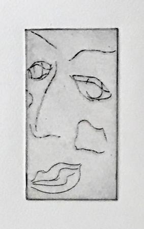 Aquatint Francis - Self Portrait