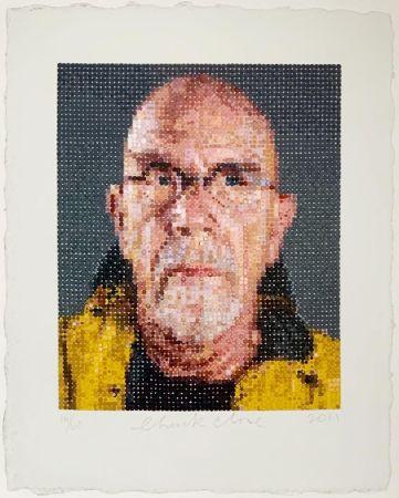 Screenprint Close - Self Portrait (1)