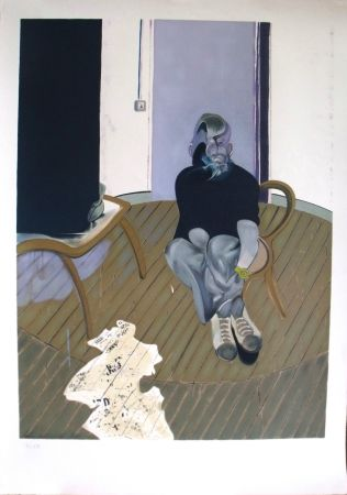 Lithograph Bacon - Self Portrait n°2